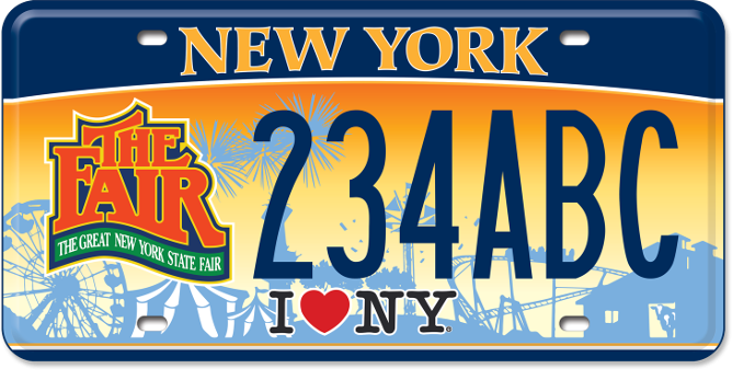 August 2015 state fair hound for New york state department of motor vehicles handicap parking permit