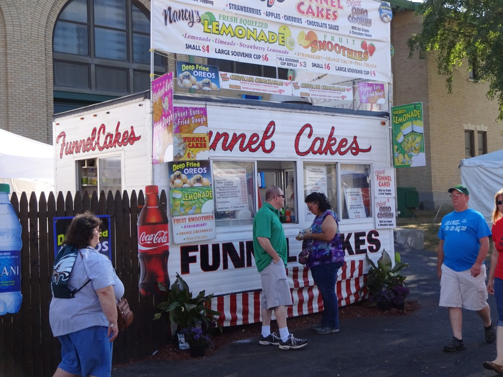 It wouldn't be the Fair without once-a-year favorites like funnel cake.